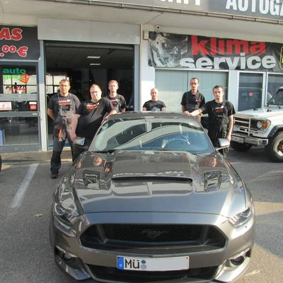 Kundenfahrzeug - Ford Mustang