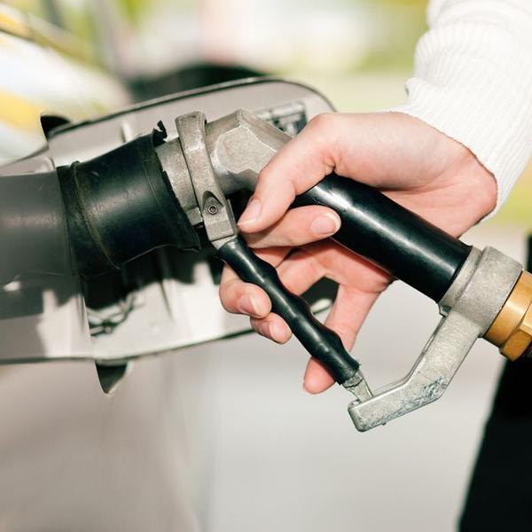 Autgas-Tankvorgang