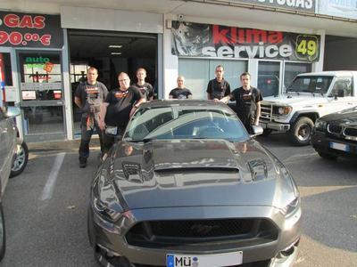 Das Team von GibGas Pawel Kfz-Werkstatt UG in München